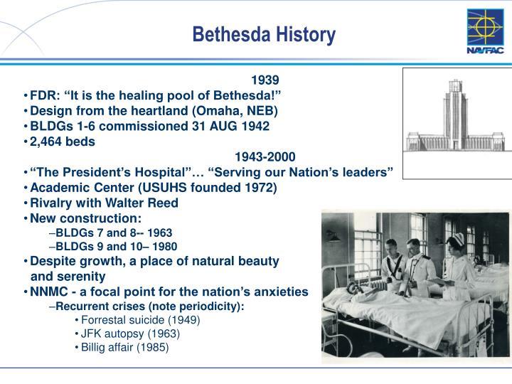 Bethesda History