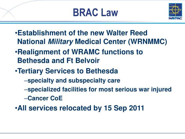 BRAC Law