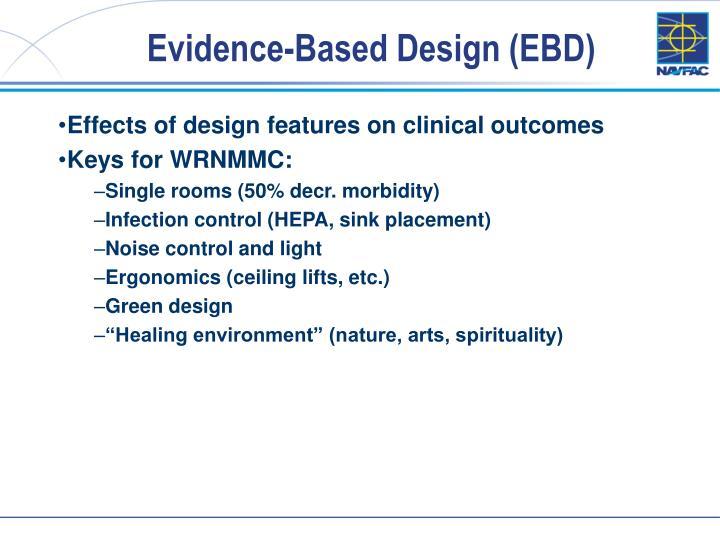Evidence-Based Design (EBD)