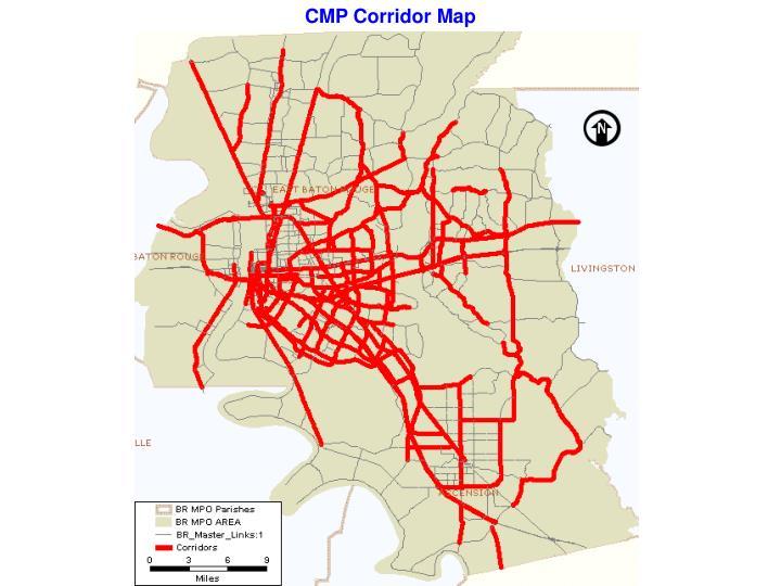 CMP Corridor Map