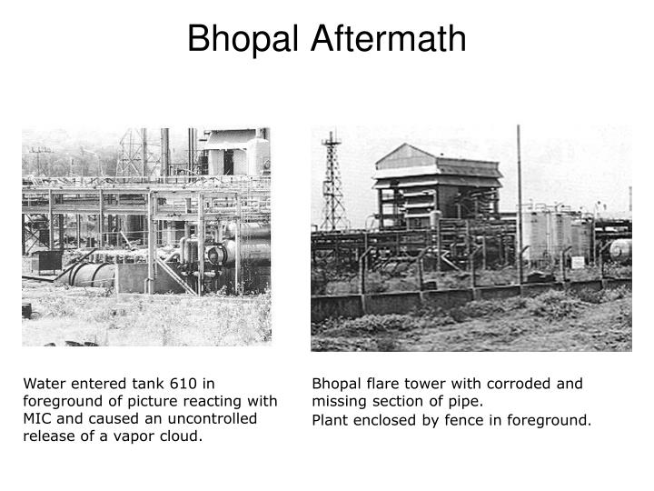 Bhopal Aftermath