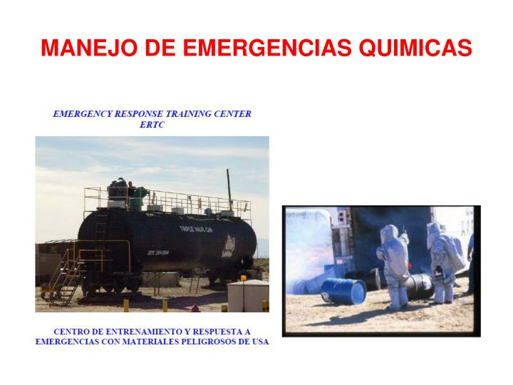 Manejo de emergencias quimicas1