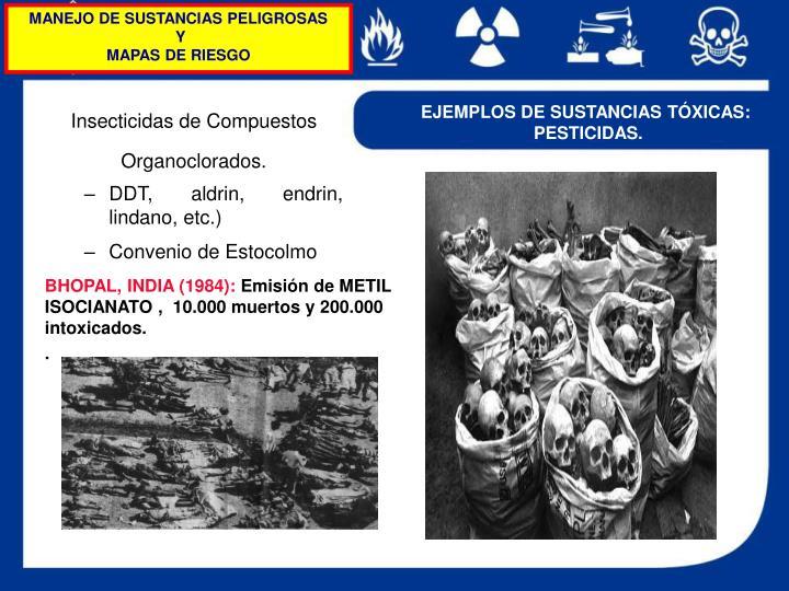 MANEJO DE SUSTANCIAS PELIGROSAS