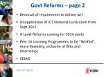 govt reforms page 2