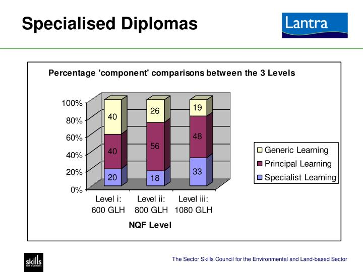 Specialised Diplomas
