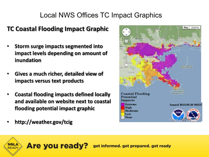 Local NWS Offices TC Impact Graphics