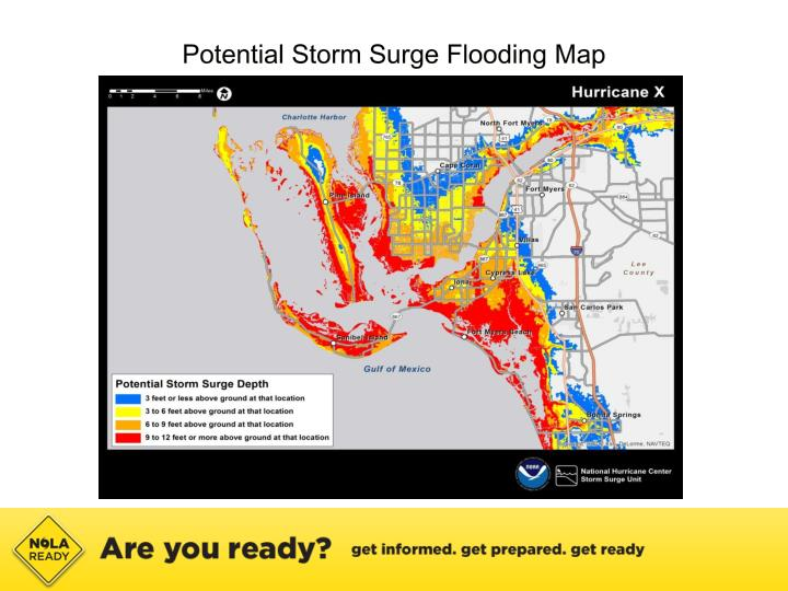 Potential Storm Surge Flooding Map