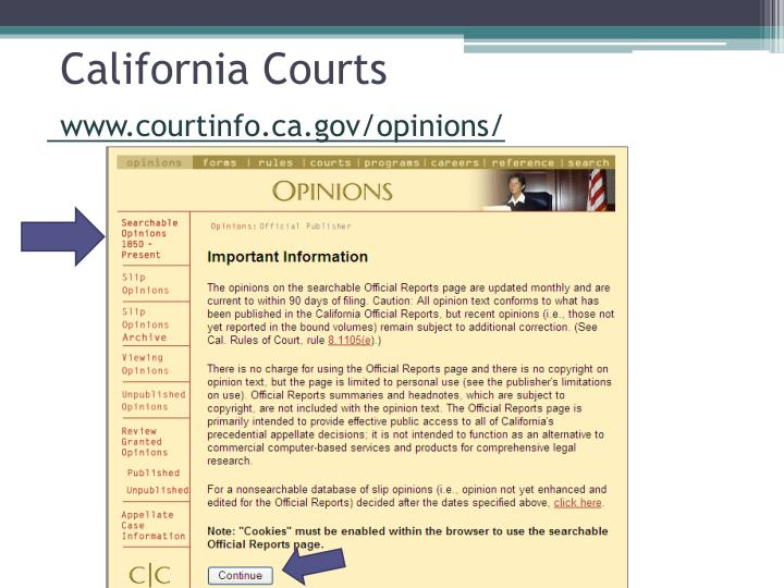 California Courts
