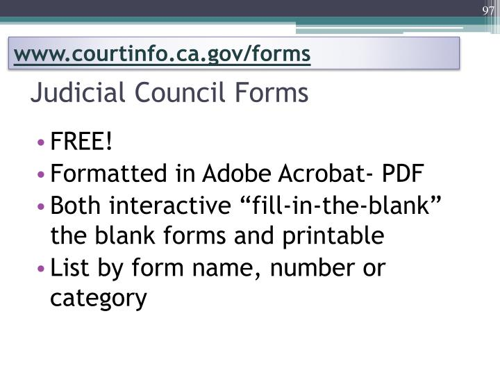 www.courtinfo.ca.gov/forms