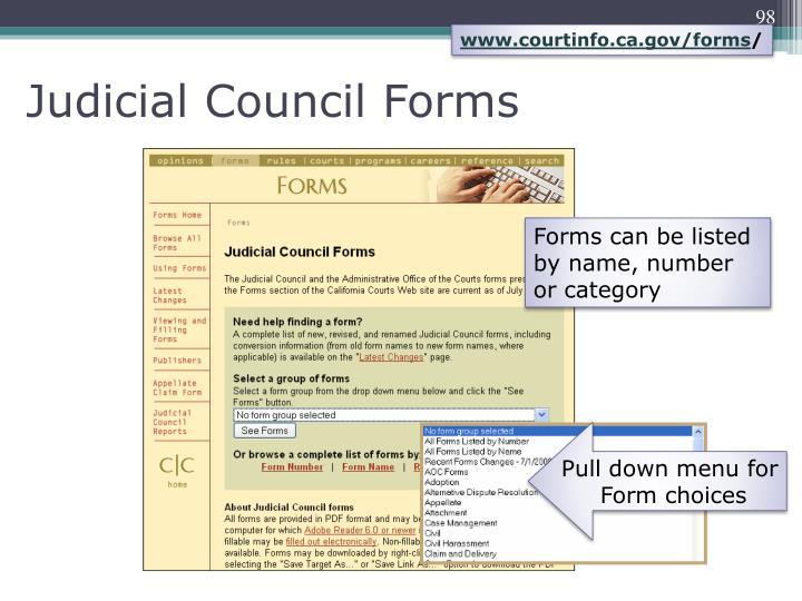 www.courtinfo.ca.gov/forms