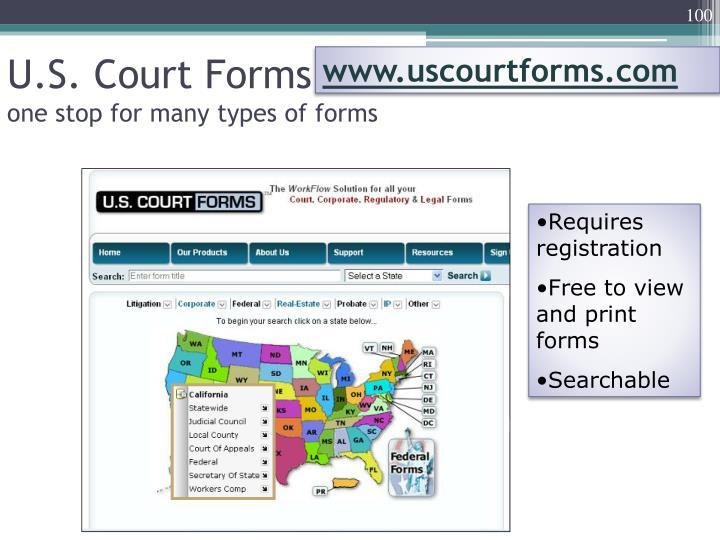www.uscourtforms.com
