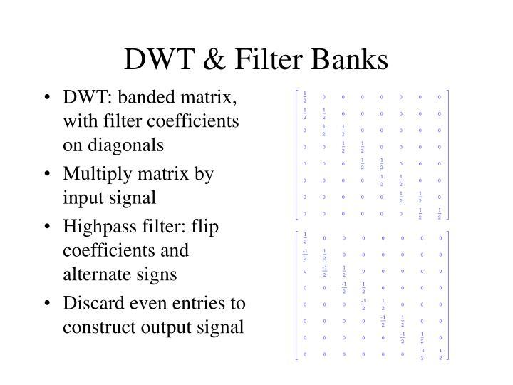 DWT & Filter Banks