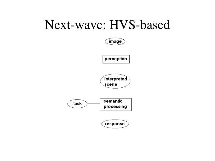 Next-wave: HVS-based