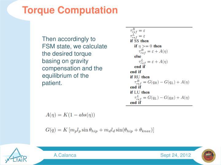 Torque Computation