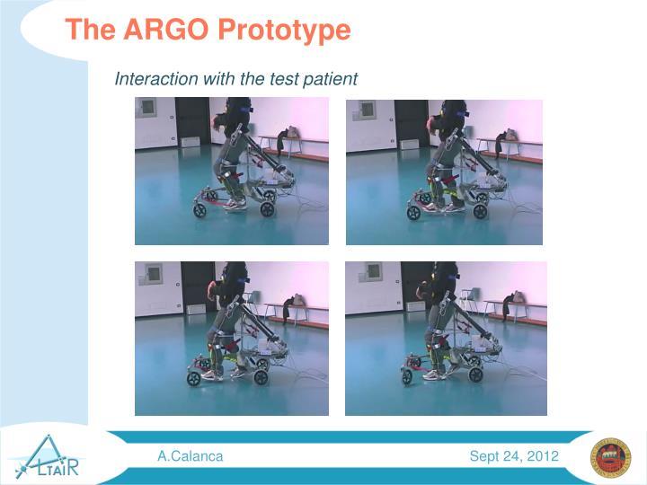 The ARGO Prototype