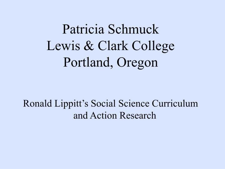 Patricia Schmuck