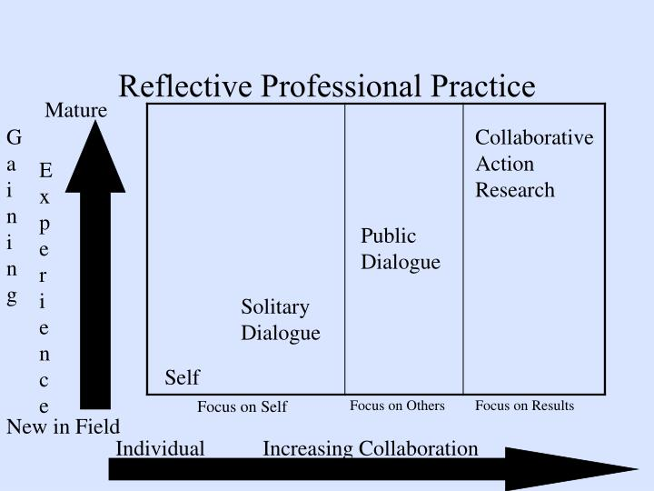 Reflective Professional Practice