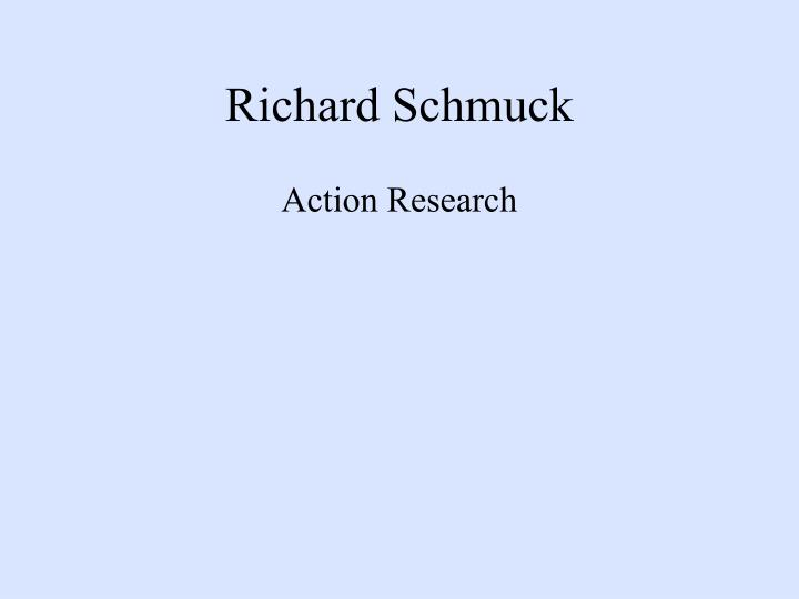 Richard Schmuck