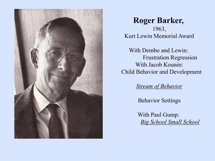 Roger Barker,