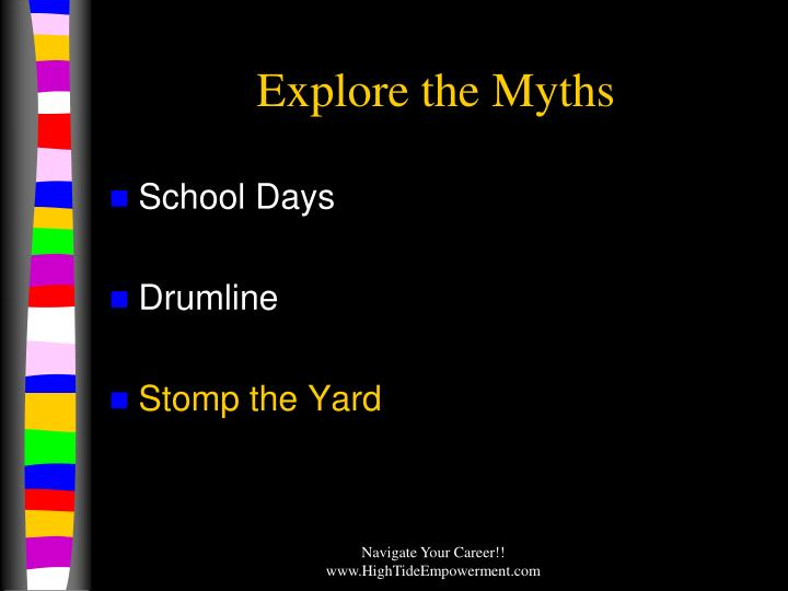 Explore the myths