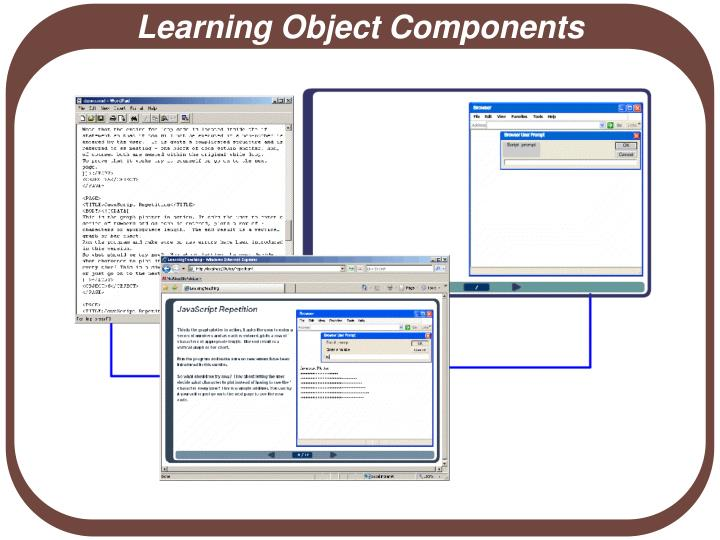 Learning Object Components