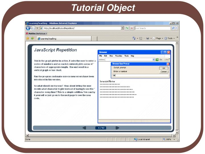 Tutorial Object