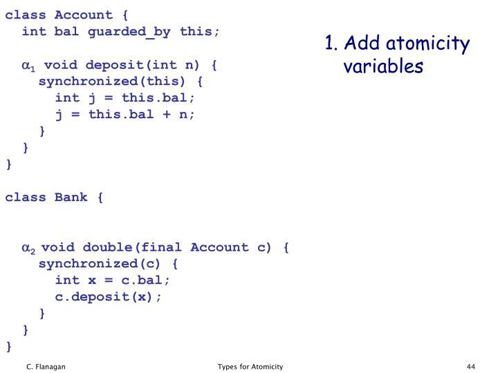 class Account {