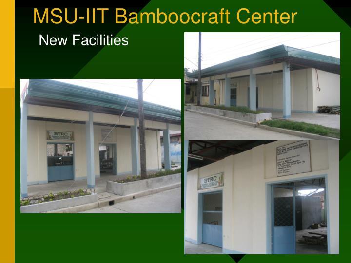 MSU-IIT Bamboocraft Center