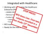 integrated with healthcare2