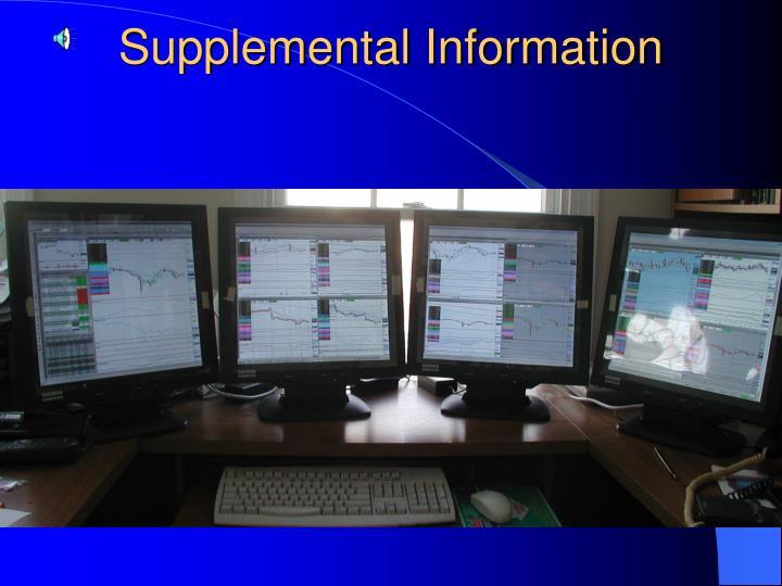 Supplemental Information