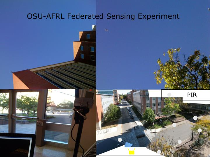 OSU-AFRL Federated Sensing Experiment