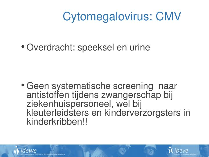 Cytomegalovirus: CMV