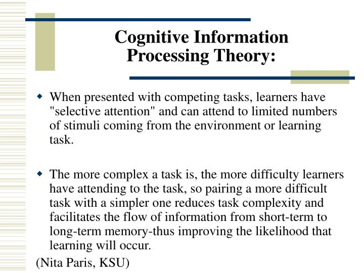 Cognitive Information