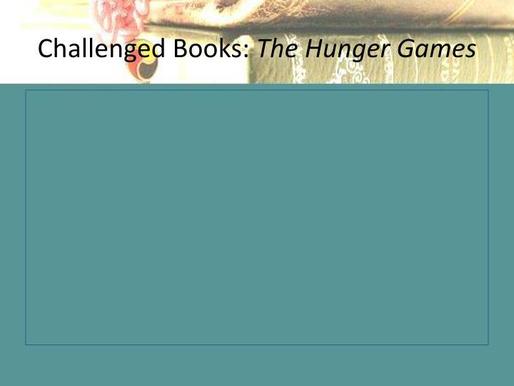 Challenged Books: