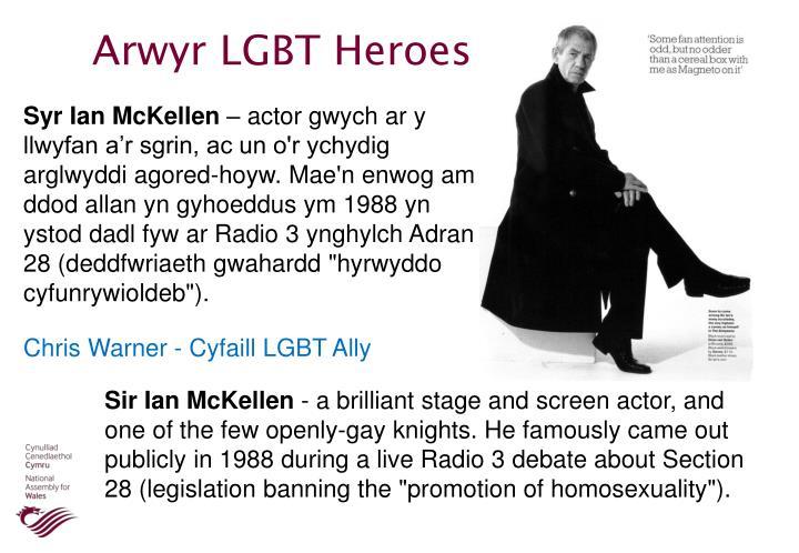 Arwyr LGBT Heroes