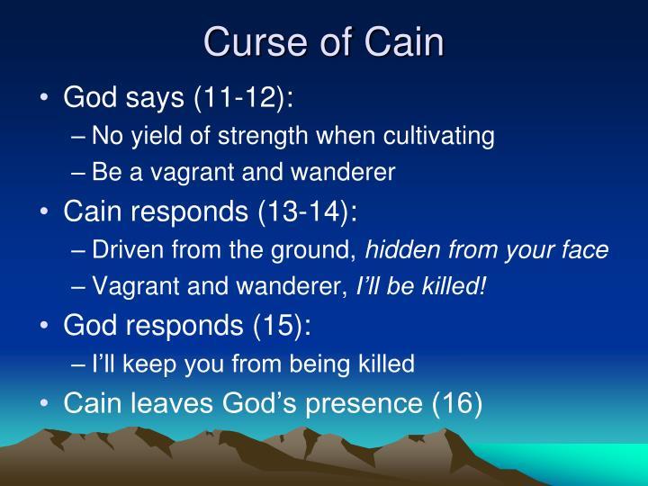 Curse of Cain
