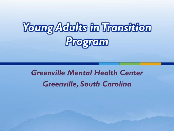 Young adult s in transition program