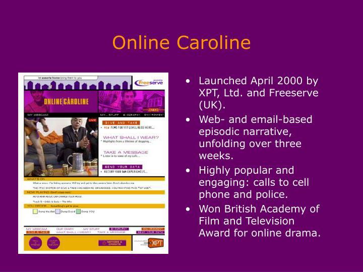 Online Caroline