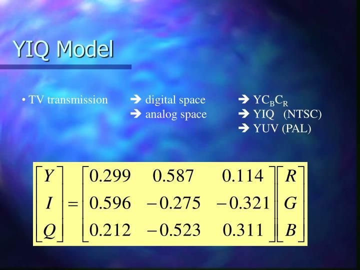 YIQ Model