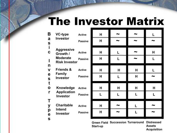 The Investor Matrix
