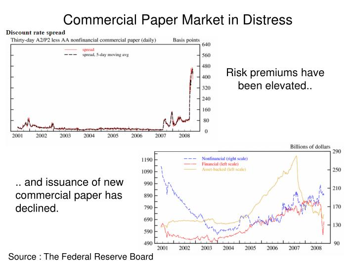 commercial paper market It's the lubricant of the world's financial machinery, and its pros fear there is a major jam coming soon the nuts-and-bolts sector of finance known as the $176 trillion us commercial paper market is facing a liquidity squeeze due to washington regulators the critical short-term corporate.