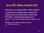 java 2d klasa graphics2d