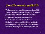 java 2d metody grafiki 2d