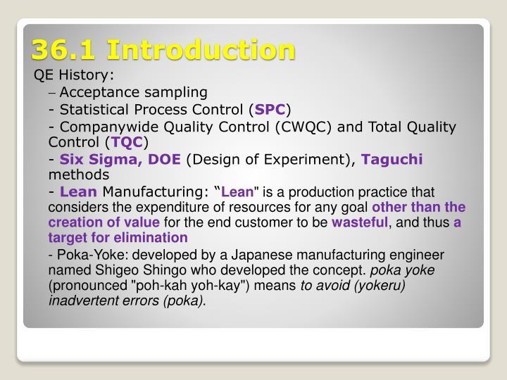 QE History:
