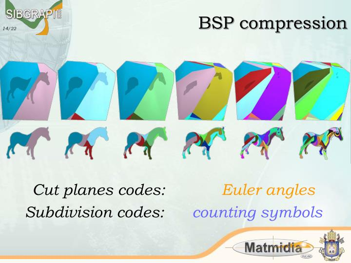 BSP compression