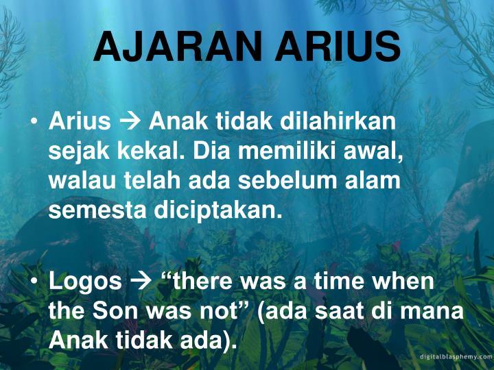 AJARAN ARIUS