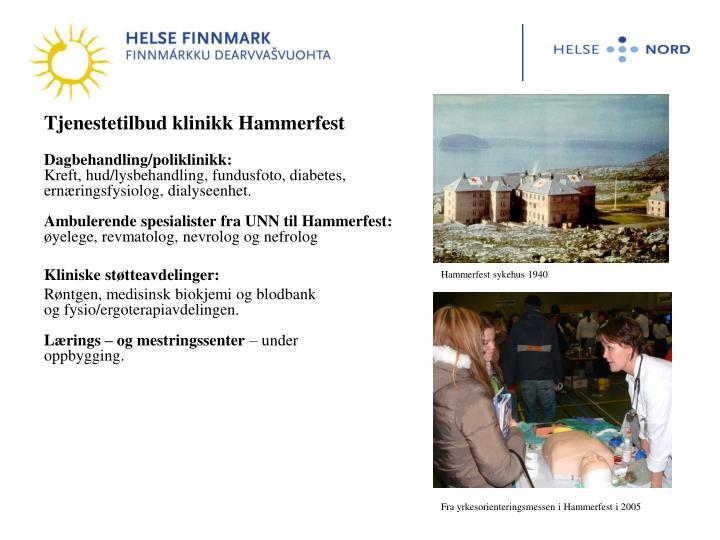 Tjenestetilbud klinikk Hammerfest