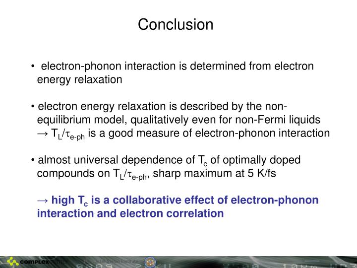 electron-phonon interaction is determined from electron