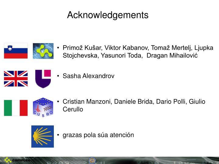 Primož Kušar, Viktor Kabanov, Tomaž Mertelj, Ljupka Stojchevska, Yasunori Toda,  Dragan Mihailović