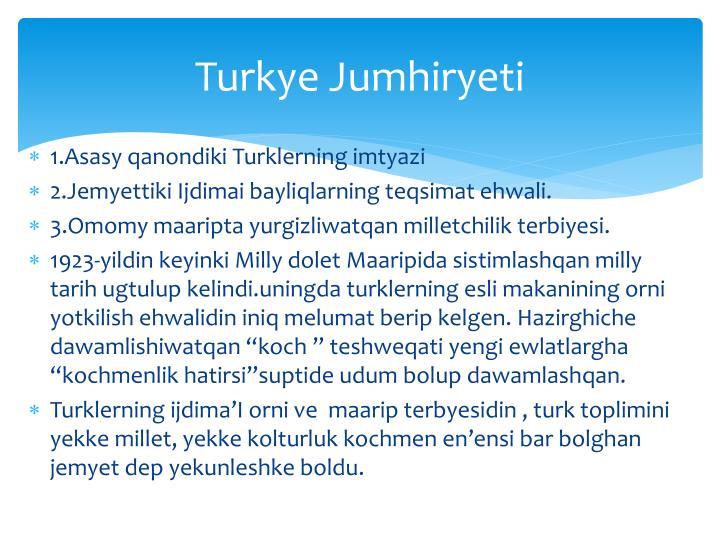 Turkye Jumhiryeti